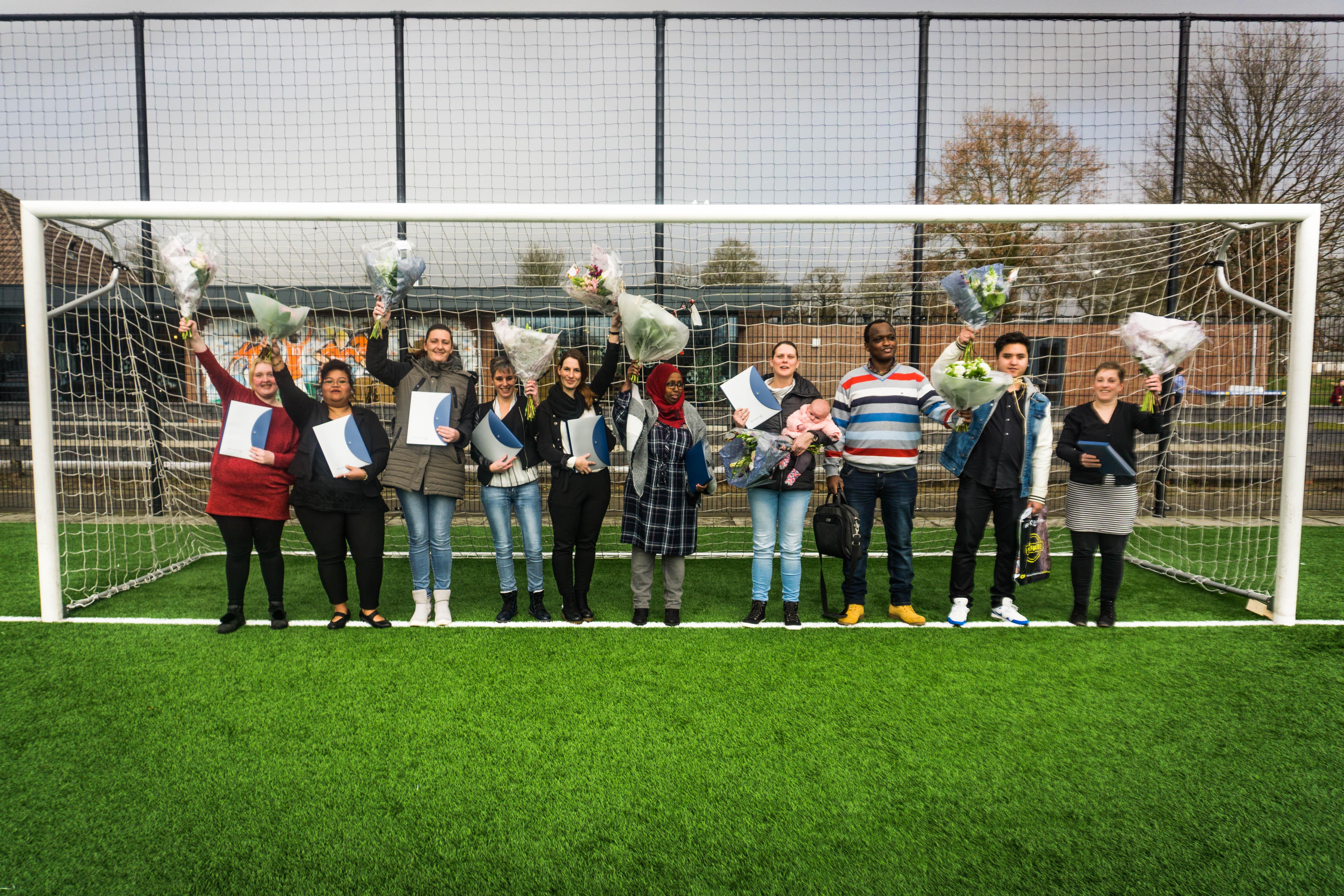Studenten Scoren Diploma Bij Sportvereniging!